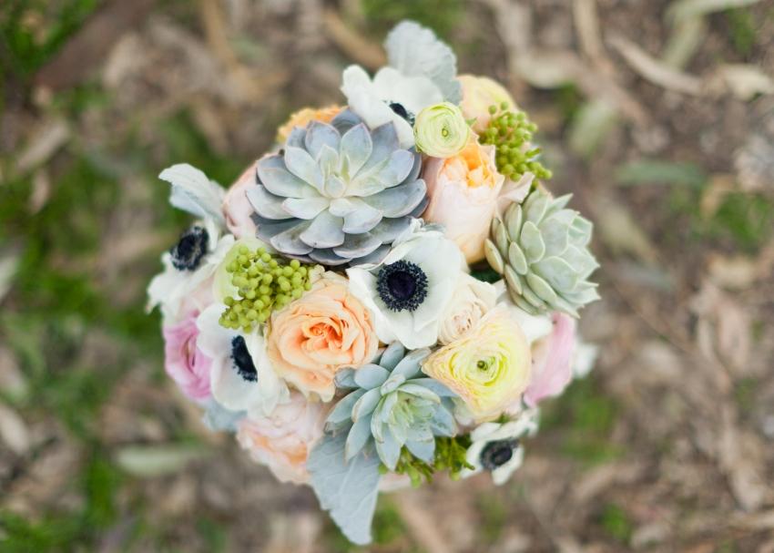 Bouquet ariel